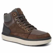 Geox fiú zárt cipő - J940DA 032PG C0196 COFFEE / BLACK