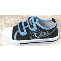 Padini fiú tornacipő - 19016B BLACK