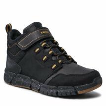 Geox fiú zárt cipő - J949XA 032FU C9241  BLACK / DK YELLOW