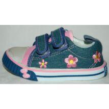 Vászoncipő - szürke/rózsaszín