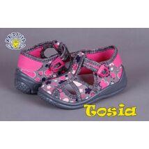 Táncsics vászon gyerekcipő - rózsaszín - Vászoncipő 4beca366db