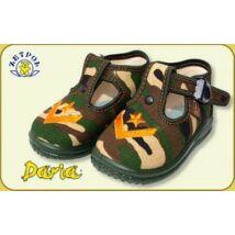 Zetpol fiú vászoncipő - Daria  terep