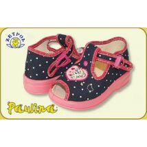 Zetpol lány vászoncipő - Marcelina (kék/pink)