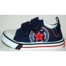 Vászoncipő - kék