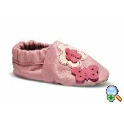 Maus bőrtalpú cipő - lila