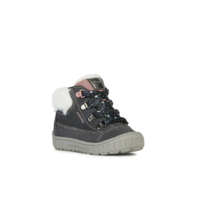 Geox lány téli cipő - B842LA 00022 C9017 DK GREY