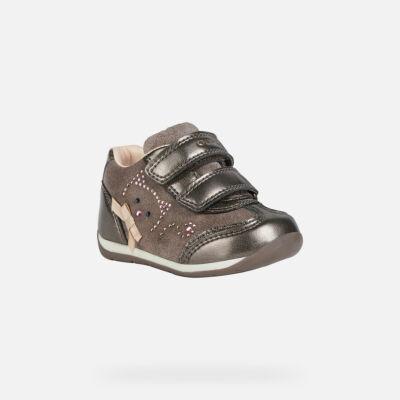 Geox első lépés cipő - B040AA 022NF C9006 Smoke Grey