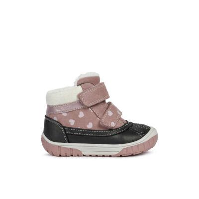 Geox lány téli cipő - B042LA 02285 C8025 ROSE SMOKE