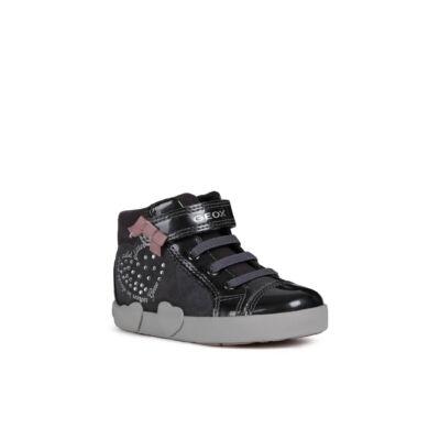 Geox lány zárt cipő - B04D5D 022HI C9002 DK Grey