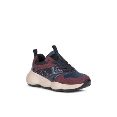 Geox zárt cipő - J04CNB 05422 CF4F8 NAVY / PRUNE