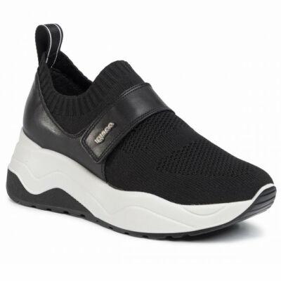 Igi&Co fekete bebújós cipő