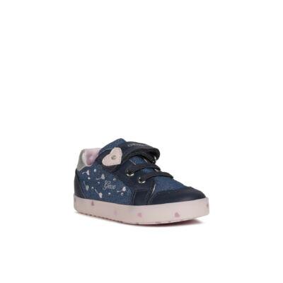Geox lány zárt cipő - B02D5D OEWBC C0694 Navy / Pink