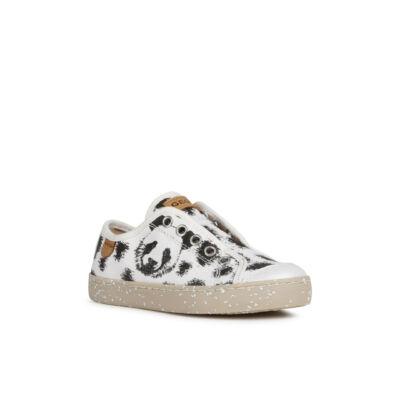 Geox lány vászoncipő - J02D5G 000ZB C1000 White