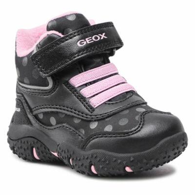 Geox lány bakancs - B04H1A 054FU C0618 Black / Pink