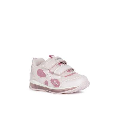 Geox lány villogó talpú cipő - B1585A 0BC14 C8004 PINK