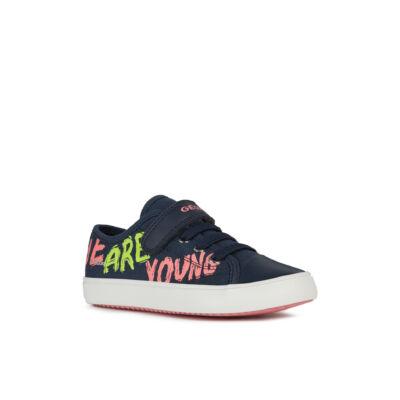 Geox lány zárt cipő - J154NE 000AW C4058 BLUE / FUCHSIA