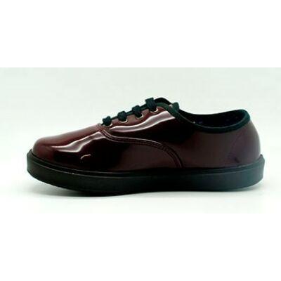 Titanitos női lakk cipő - T710 BASIC BURDEOS