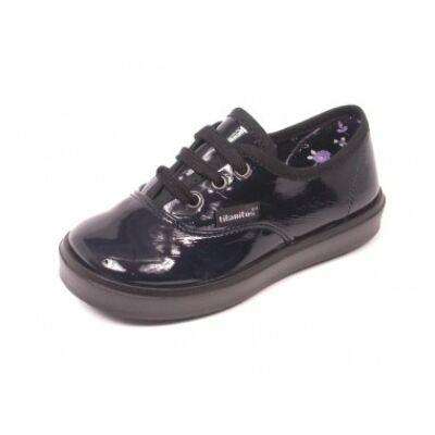 Titanitos női lakk cipő - T710 BASIC MARINO