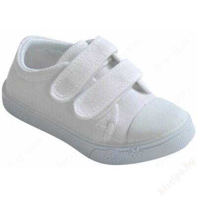 Vászoncipő - fehér