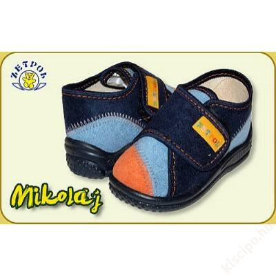 22501be60d Zetpol fiú vászoncipő - Mikolaj - Vászoncipők