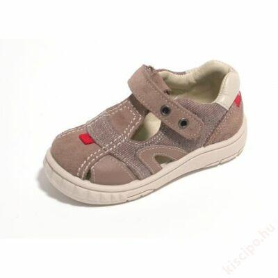 Titanitos bőr szandálcipő - T300V56020 TAUPE
