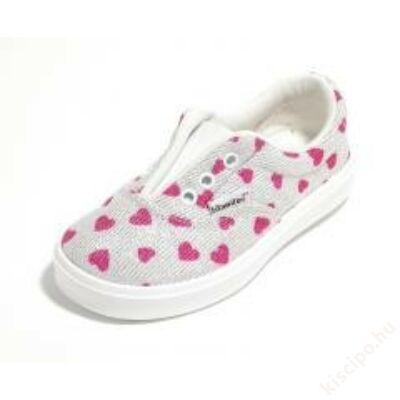 Titanitos lány belebújós cipő - T710Happy600 Blanco
