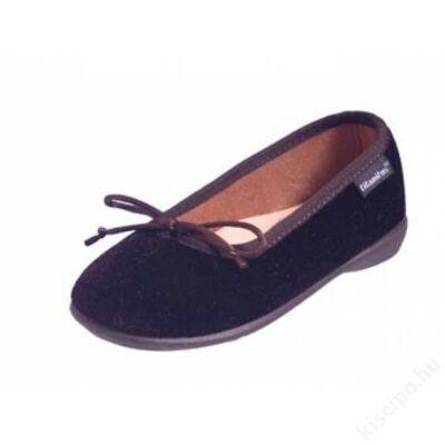 Titanitos bársony balerina cipő - T610Z80173 MARINO