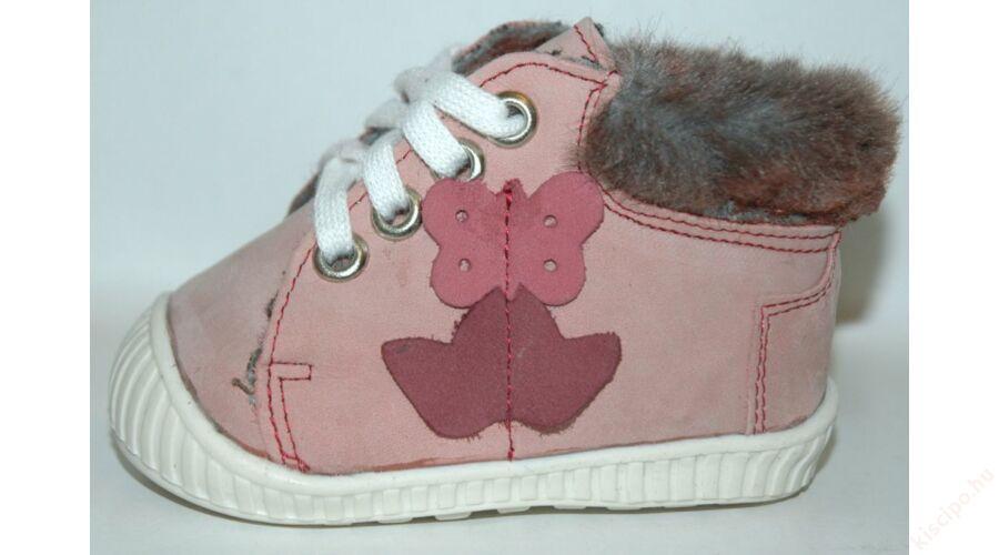 Maus bébi bélelt cipő - Z117 Rózsa - Első lépés cipő 66c44d9f86
