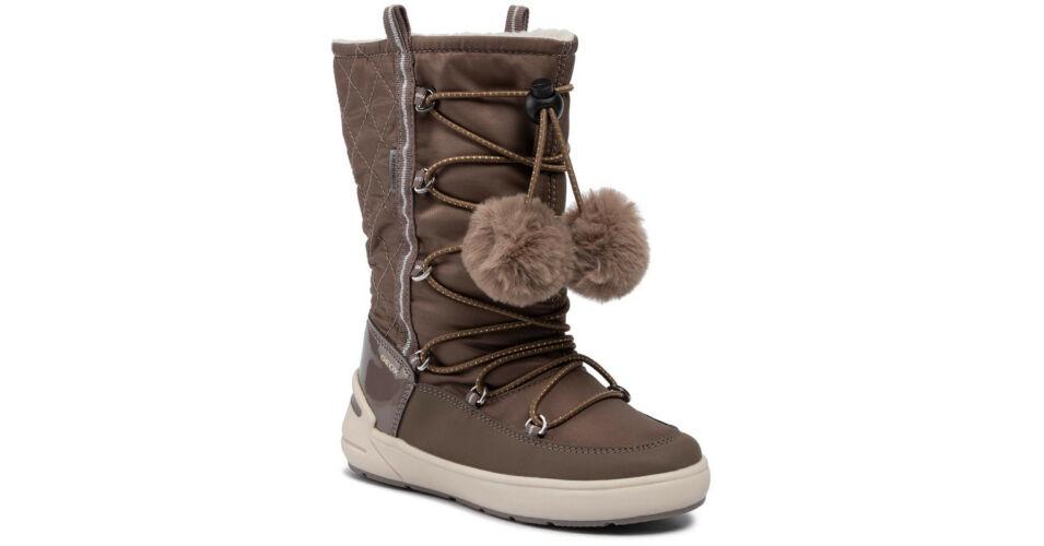Geox lány csizma J949SB OFU50 C5005 DK BEIG Téli cipők