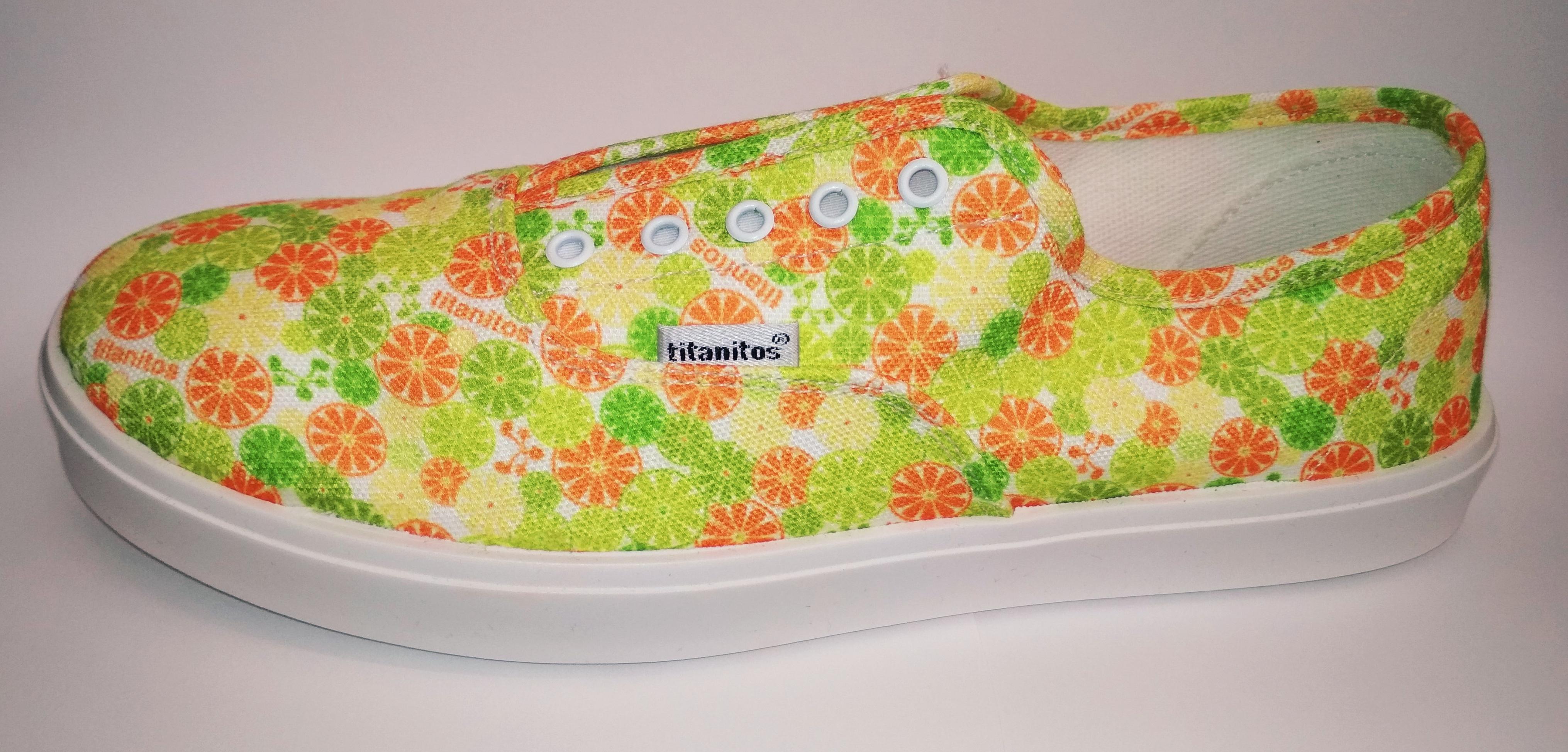 Titanitos belebújós cipő - T710HI1 Comb. 1 - Vászoncipő eec6153ff4