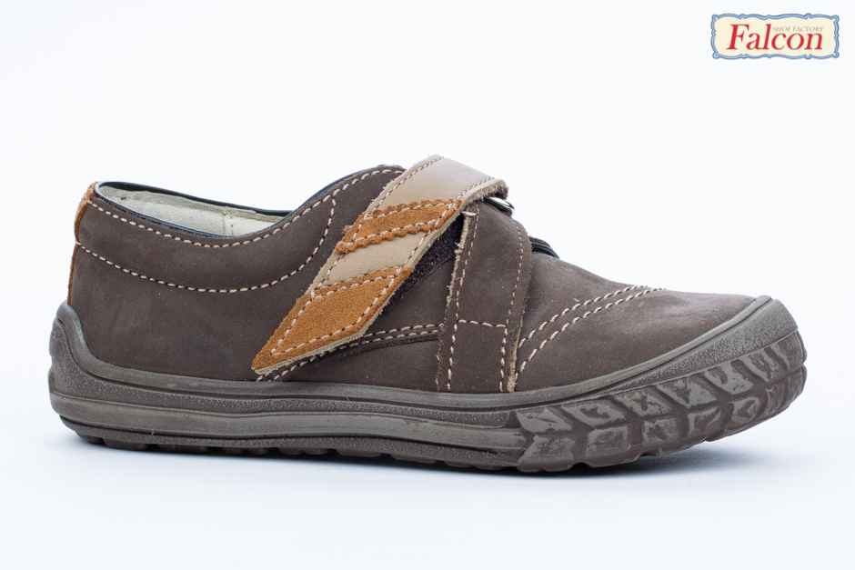 Falcon tépőzáras zárt cipő - barna - Fiú cipő cc0c77b7b8