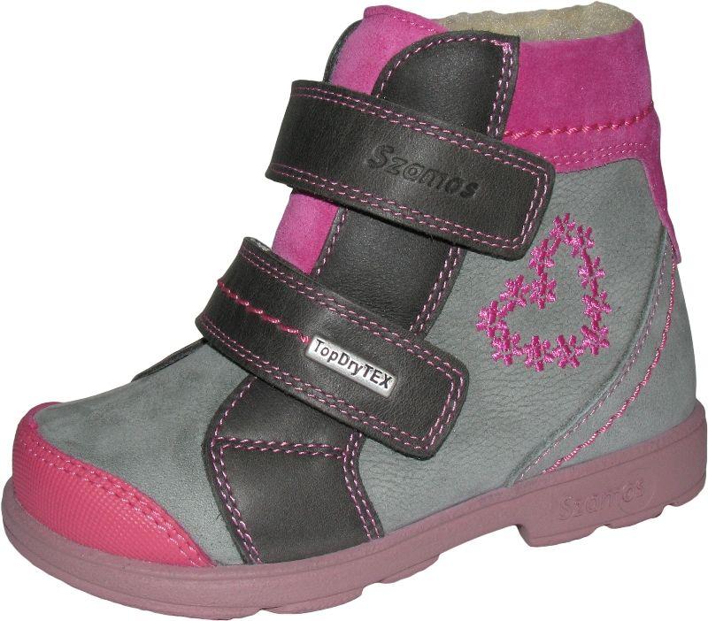 ccea622330 Szamos 2 tépős supinált texes - 1329-59749 - Supinált téli cipő